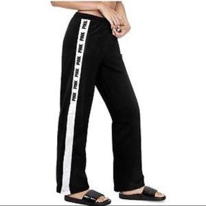 PINK Victoria's Secret Pants - NWT Victoria's Secret PINK WIDE LEG TRACK PANT